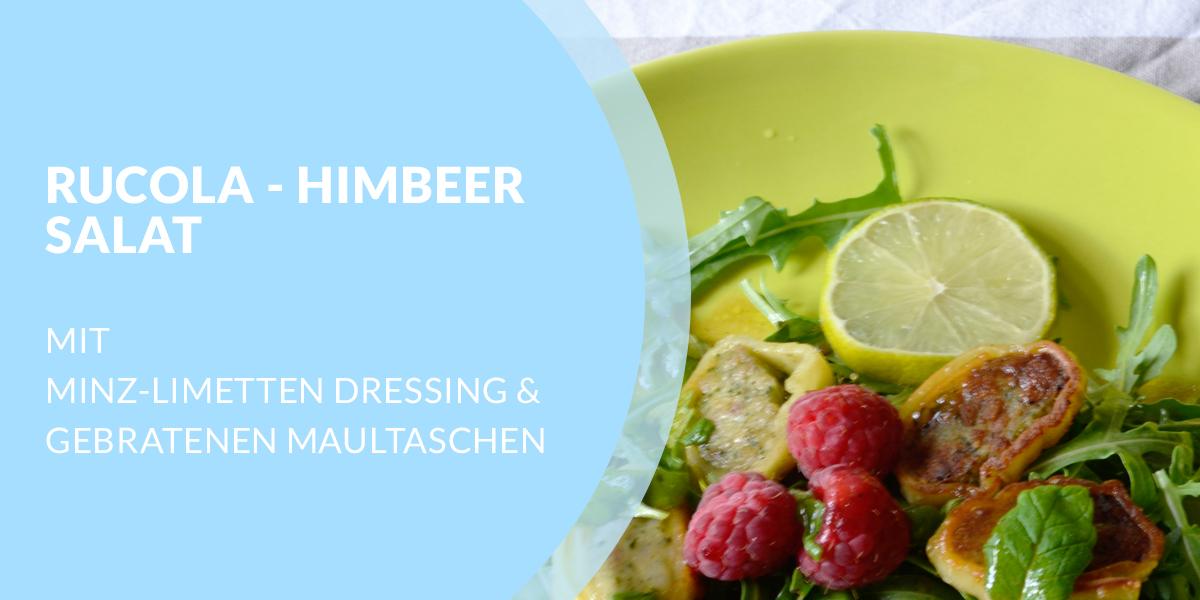 Rucola-Himbeer Salat