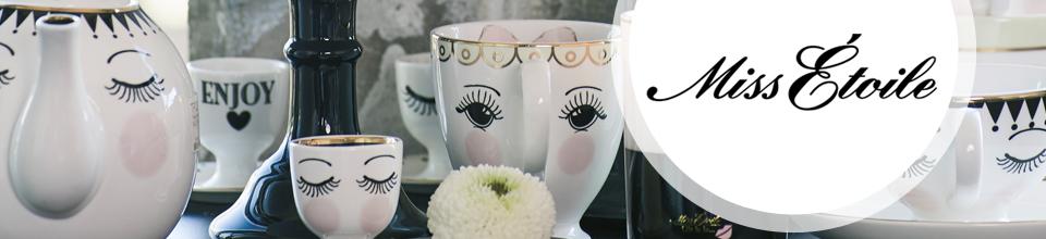 geschirr porzellan von miss toile online kaufen emil paula. Black Bedroom Furniture Sets. Home Design Ideas