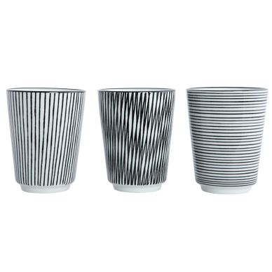 House Doctor Becher Pen Stripe