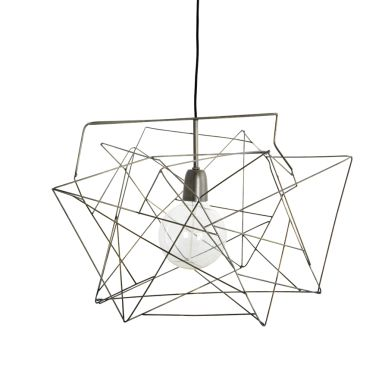 House Doctor Deckenlampe Asymmetric Metallgrau