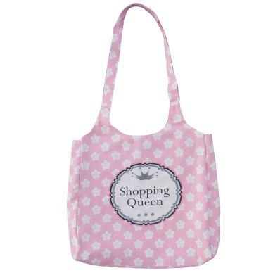 Krasilnikoff Einkaufstasche Shopping Queen Pink