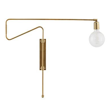 House Doctor Wandlampe Swing Messing