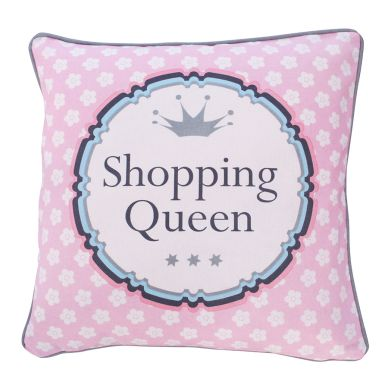 Krasilnikoff Kissenbezug Shopping Queen