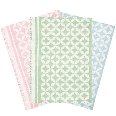 GreenGate Geschirrtuch Mia Mix 3er-Set
