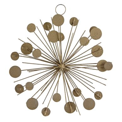House Doctor Ornament Dots gold