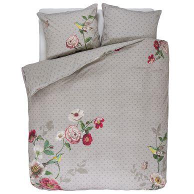 pip studio bettw sche pip poppy khaki online kaufen emil paula. Black Bedroom Furniture Sets. Home Design Ideas
