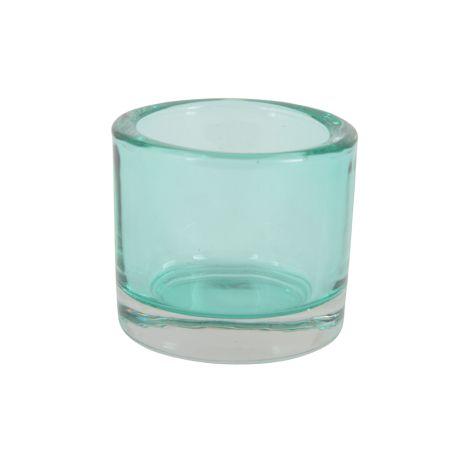 IB LAURSEN transparentes Teelichtglas Grün