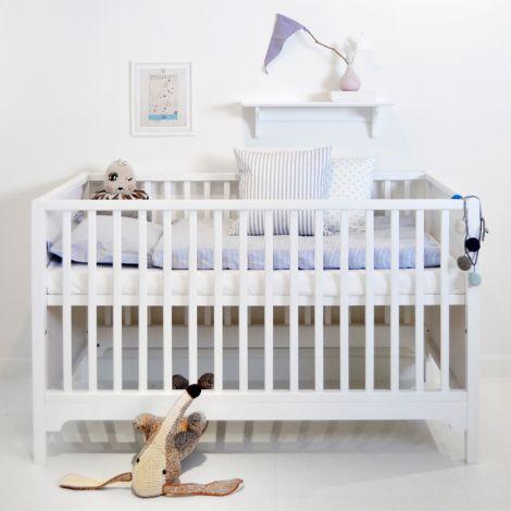 Oliver Furniture Baby- und Kinderbett Seaside Weiß - Sofort Lieferbar!