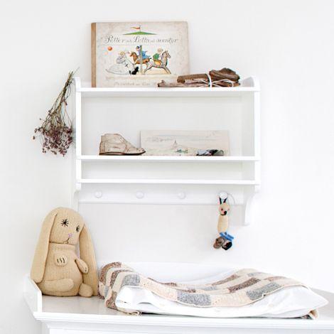 Oliver Furniture Bücherregal mit Haken Weiß