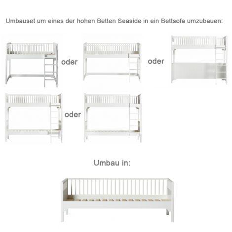 Oliver Furniture Umbauset Seaside alle hohen Betten zum Bettsofa