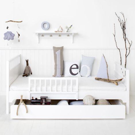 Oliver Furniture Bettschublade Weiß Seaside - Sofort Lieferbar!