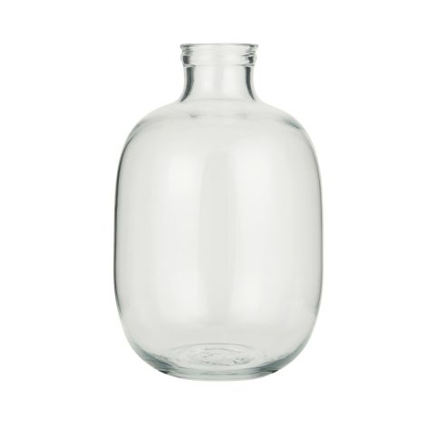 IB LAURSEN Vase Glasballon Mundgeblasen 29 cm