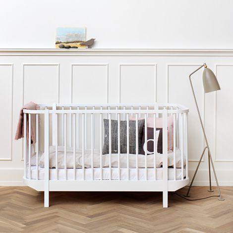 Oliver Furniture Baby- und Kinderbett Wood Weiß