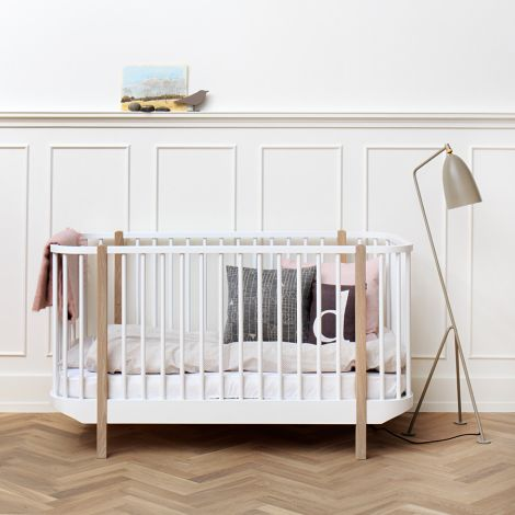 Oliver Furniture Baby- und Kinderbett Wood Eiche