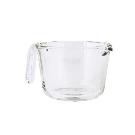 IB LAURSEN Rührschüssel mit Henkel Glas 19 cm
