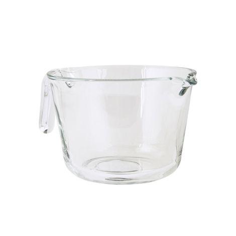 IB LAURSEN Rührschüssel mit Henkel Glas 21 cm