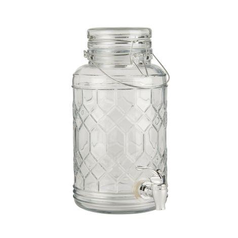 IB LAURSEN Getränkebehälter Glas 3,5 L