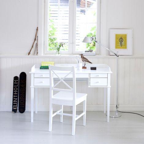 Oliver Furniture Schreibtisch Seaside Weiß H74cm