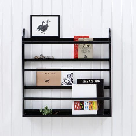 Oliver Furniture Tellerregal Schwarz