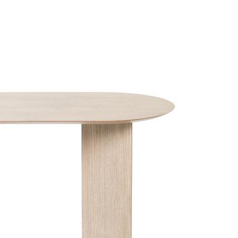 ferm LIVING Tischplatte Mingle Oval Natural Oak Veneer 150 cm