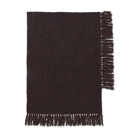 ferm LIVING Teppich Kelim Dark Melange 70 x 50