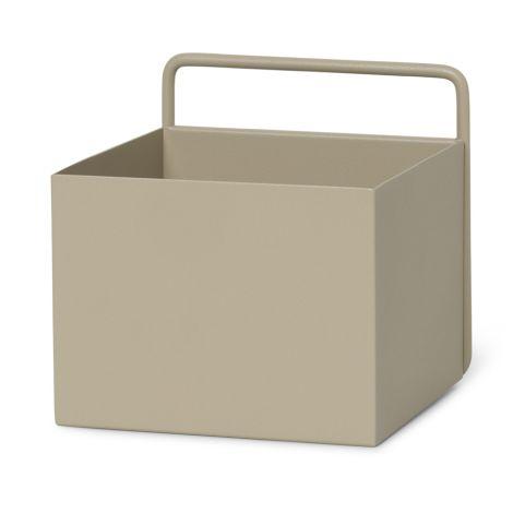 ferm LIVING Aufbewahrungsbox Wand Square Cashmere