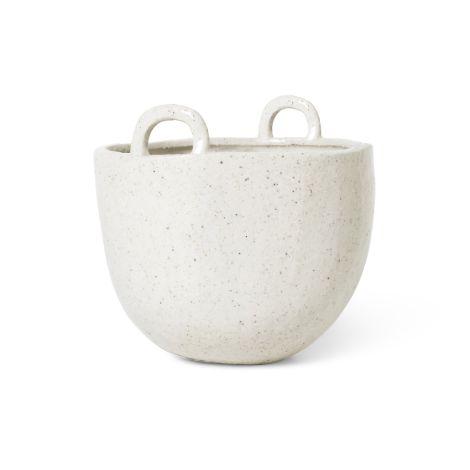 ferm LIVING Gefäß Speckle Pot Off-White