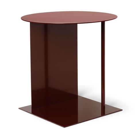 ferm LIVING Beistelltisch Place Red Brown