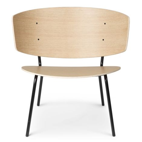 ferm LIVING Stuhl Herman Lounge Chair Natural Oak