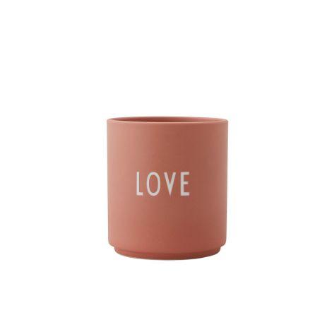 Design Letters Porzellan Becher Love