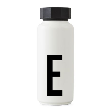 Design Letters Thermosflasche E •