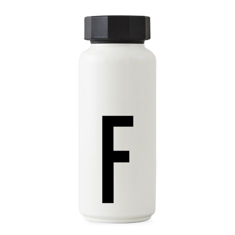 Design Letters Thermosflasche F •