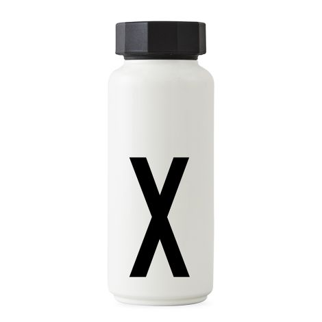 Design Letters Thermosflasche X •