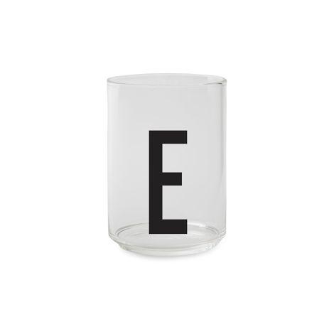 Design Letters Wasserglas E