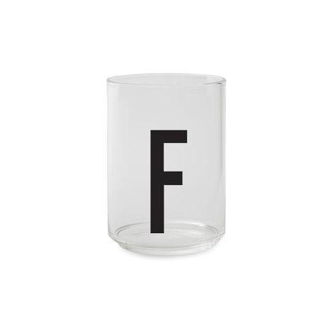 Design Letters Wasserglas F