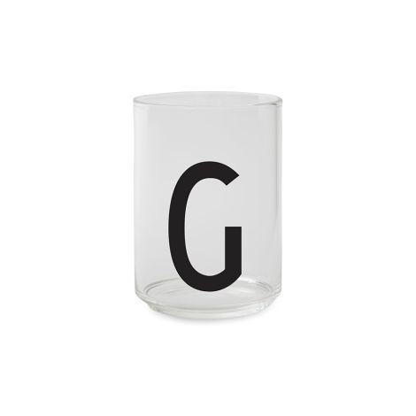 Design Letters Wasserglas G