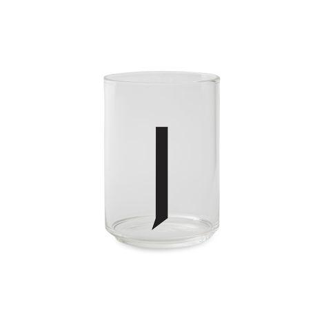 Design Letters Wasserglas J