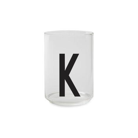 Design Letters Wasserglas K