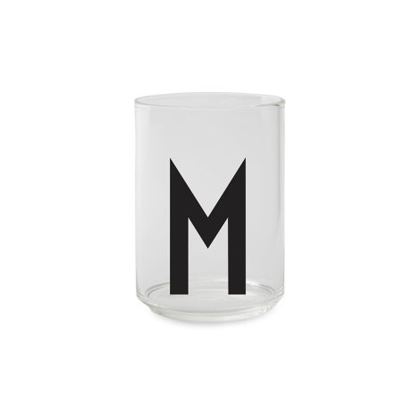 Design Letters Wasserglas M