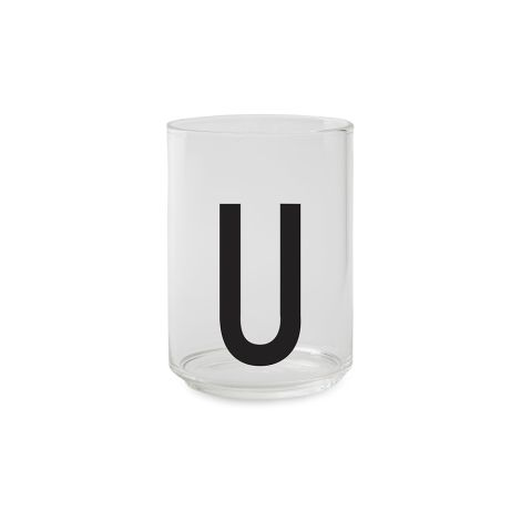Design Letters Wasserglas U
