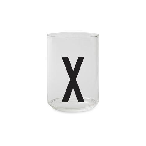 Design Letters Wasserglas X