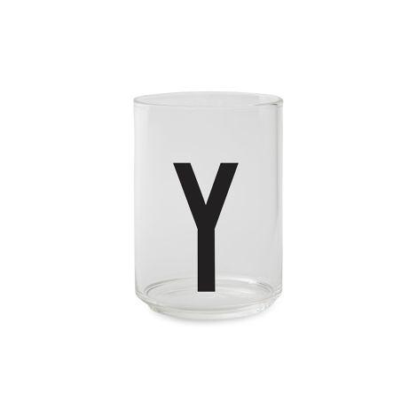 Design Letters Wasserglas Y •