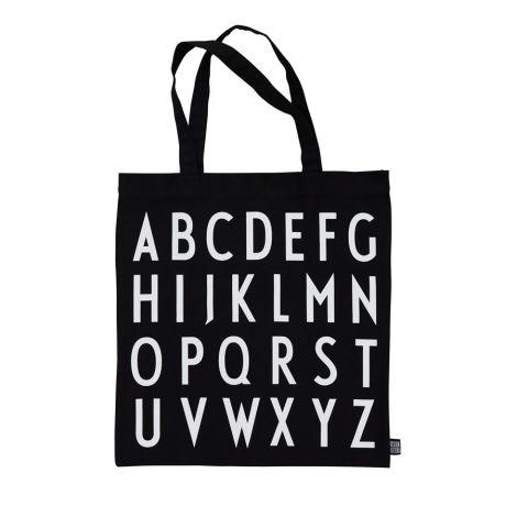 Design Letters Tasche ABC Black
