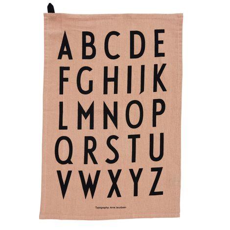 Design Letters Geschirrtuch Nude 2er-Set