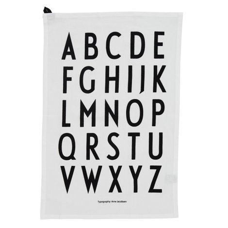 Design Letters Geschirrtuch White 2er-Set