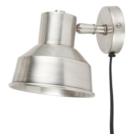 IB LAURSEN Wandlampe Antik-Silber