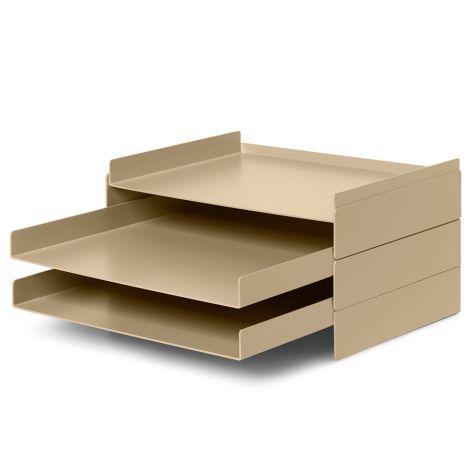 ferm LIVING Schreibtisch-Organiser 2x2 Cashmere