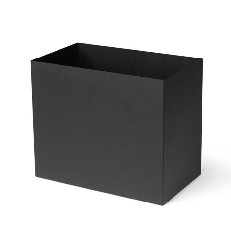 ferm LIVING Einsatz für Plant-Box/Multi-Box Pot Large Black