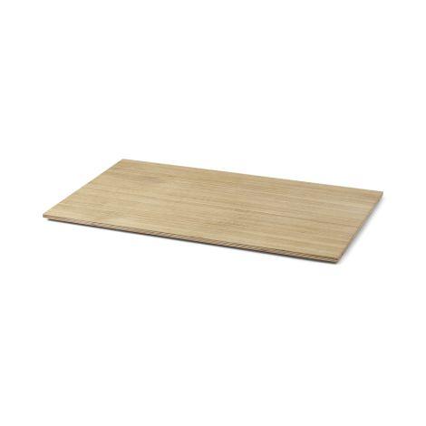 ferm LIVING Abdeckung für Plant-Box/Multi-Box Large Oak Oiled