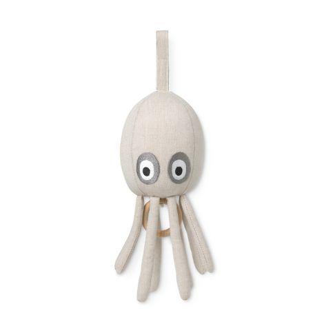 ferm LIVING Spieluhr Octopus Sand